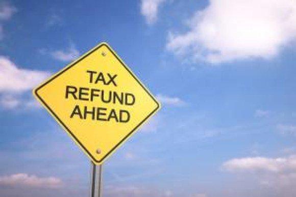 boston proper tax refund sign