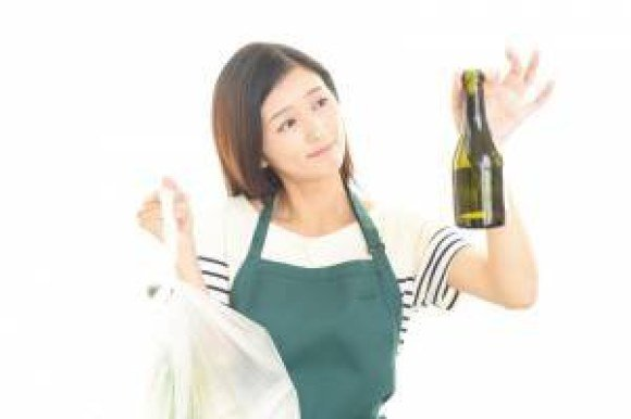 mcaffee woman recycling