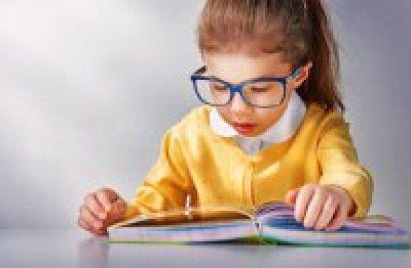 mcaffee kid reading