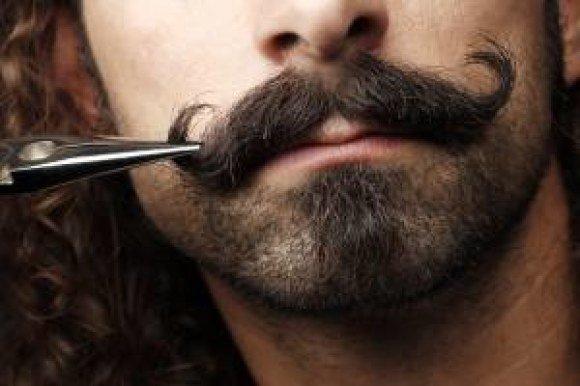 monster man handlebar mustache