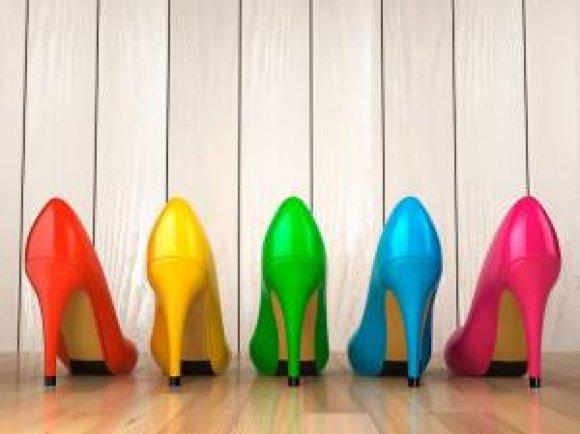 boston proper rainbow heels