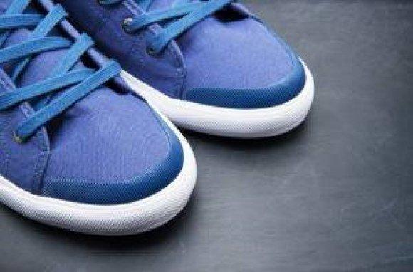 boston proper blue shoes