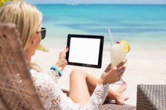 verizon tablet beach