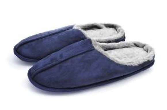bproper blue slippers