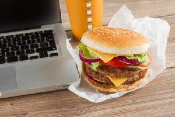 monster computer burger