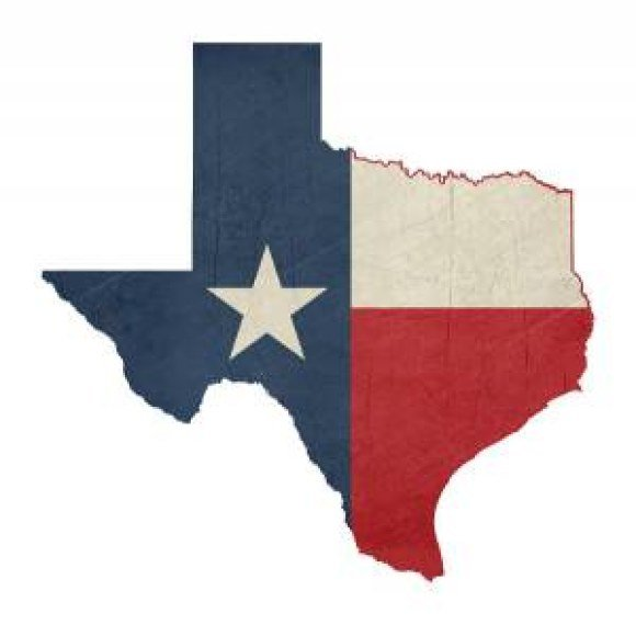 bproper texas flag