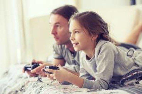 verizon girl dad videogames