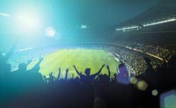 fans football field
